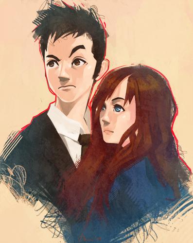 Doctor/Donna ファン Art