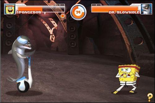Dr. Blowhole vs Spongebob!