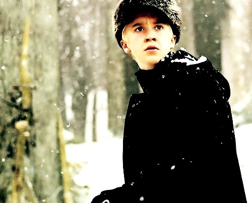 Draco Malfoy wallpaper possibly with a snowbank called Draco Malfoy