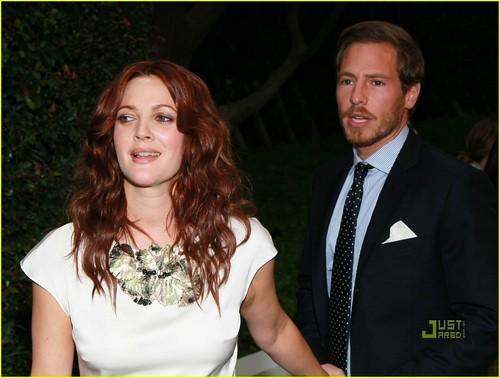 Drew Barrymore: Chanel & NRDC jantar with Will Kopelman!