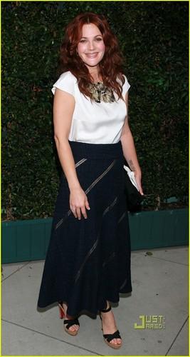 Drew Barrymore: Chanel & NRDC makan malam with Will Kopelman!