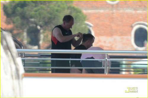 Elton John & David Furnish: Italian Vacation with Zachary!