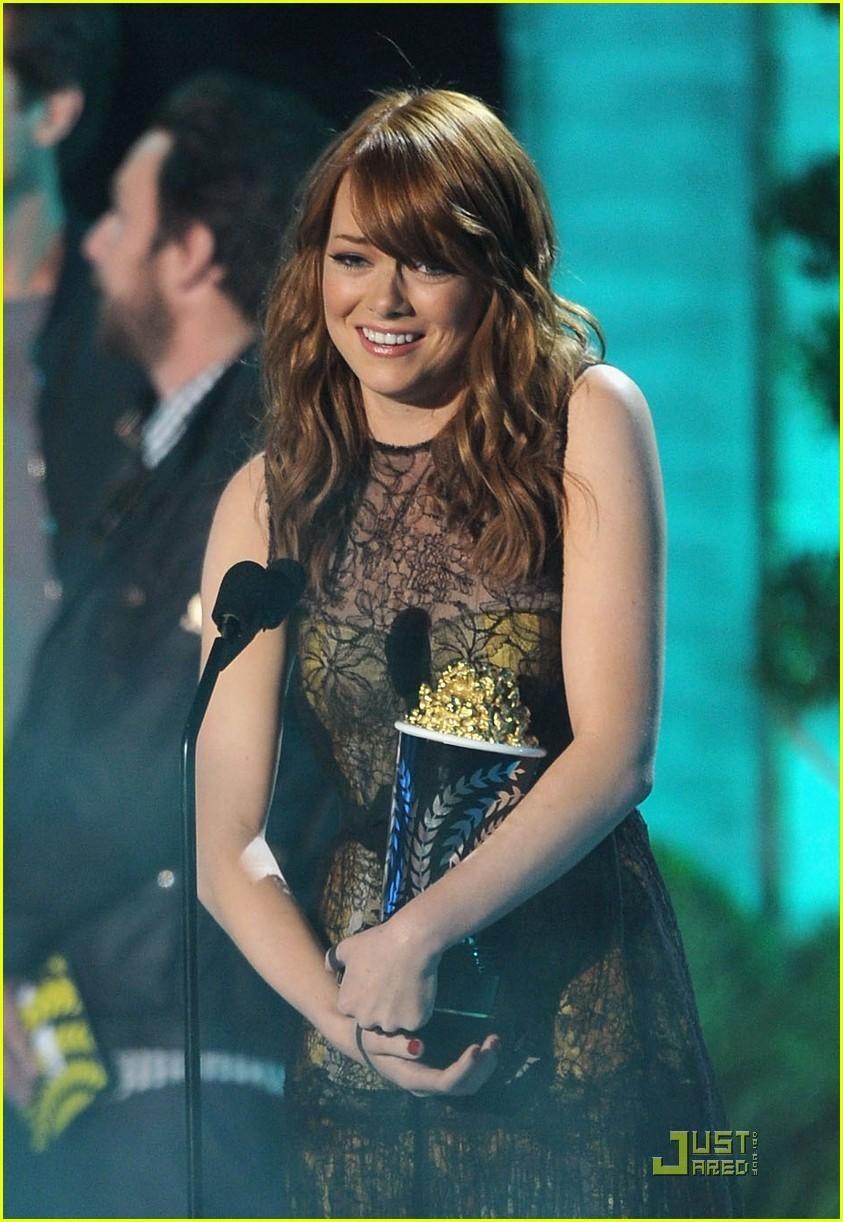Emma Stone: Best Comedic Performance Winner!