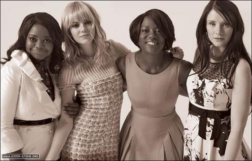 Emma Stone and the cast from 'The Help'