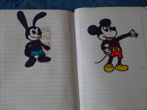 Epic Mickey:Oswald The Lucky Rabbit & Mickey tetikus