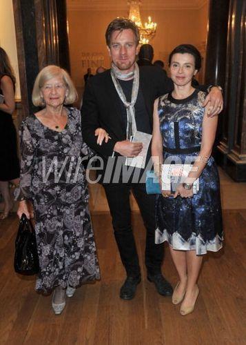 Ewan, Eve & his grandma on 2nd June 2011!