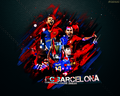 FC Barcelona CL Winner of 2008/09 壁纸