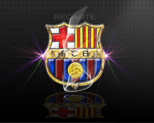 FC Barcelona پیپر وال possibly containing a shield entitled FC Barcelona Logo پیپر وال