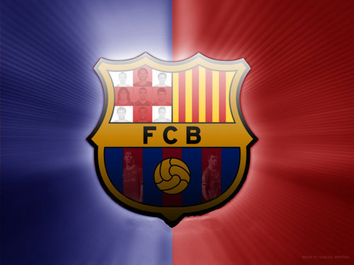 ФК Барселона Обои entitled FC Barcelona Logo Обои