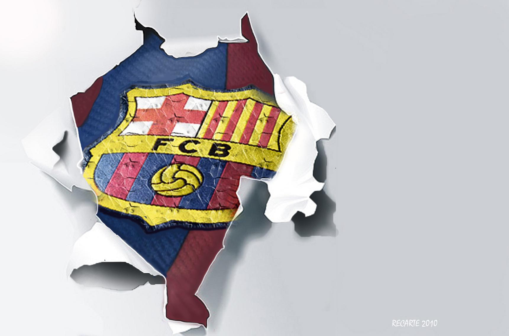 fc barcelona logo wallpaper fc barcelona fan art 22614266 fanpop fanpop