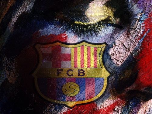 FC Barcelona پیپر وال called FC Barcelona Logo پیپر وال