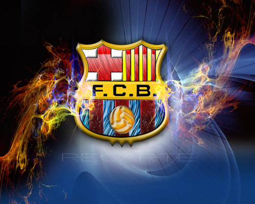 FC Barcelona پیپر وال entitled FC Barcelona Logo پیپر وال