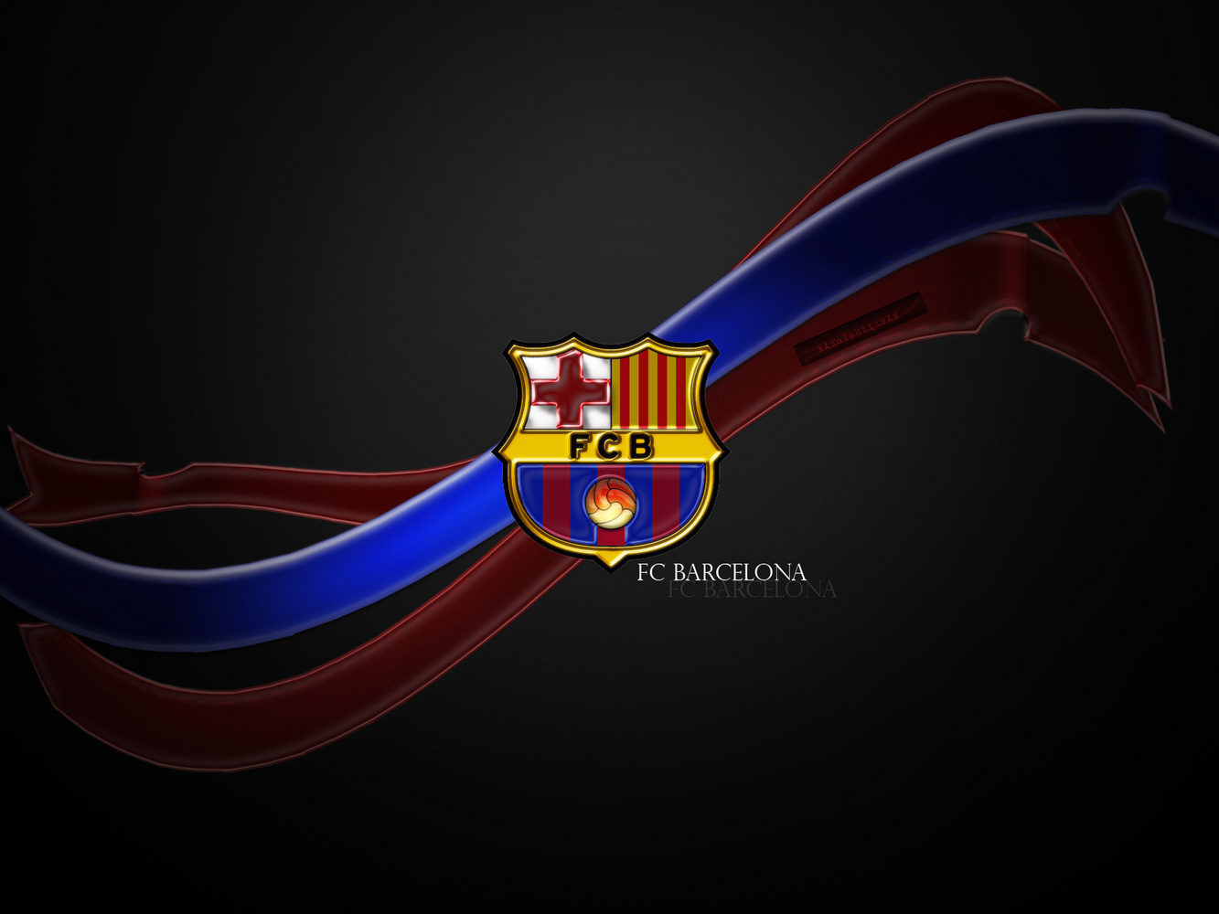FC Barcelona Logo fond d'écran - FC Barcelone fan Art (22614337) - fanpop