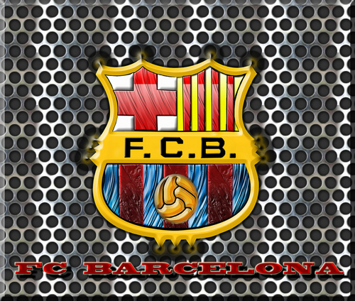 FC Barcelona پیپر وال entitled FC Barcelona Logo پیپر وال