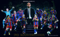FC Barcelona Players 2010/11 - fc-barcelona wallpaper