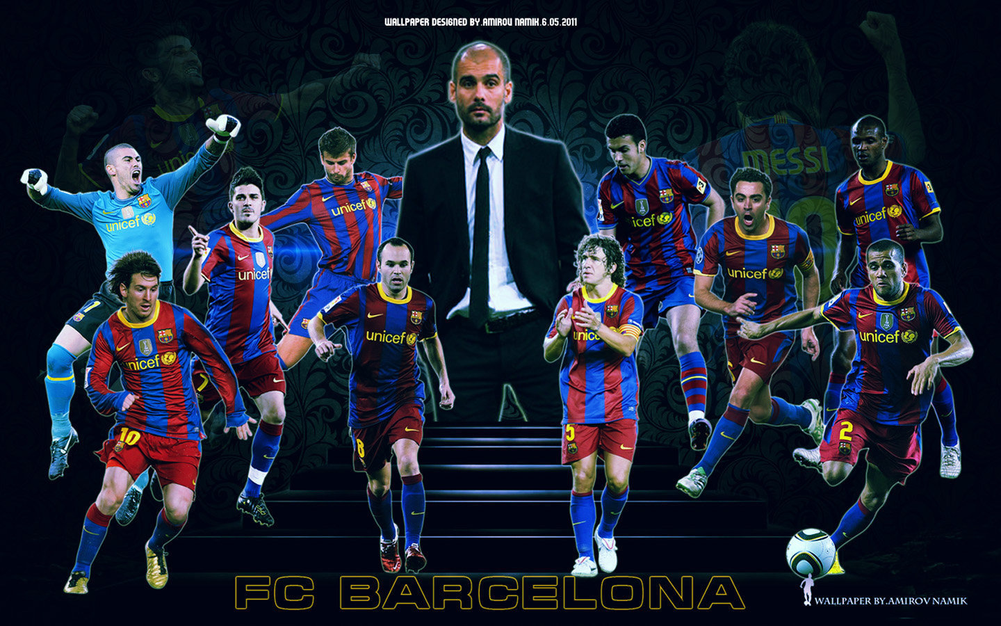 FC Barcelona Players 2010/11