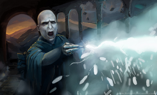 Fighting Lord Voldemort fã Art