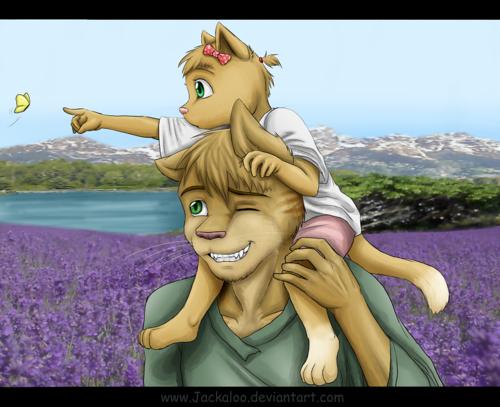 Firestar and Squirrelkit