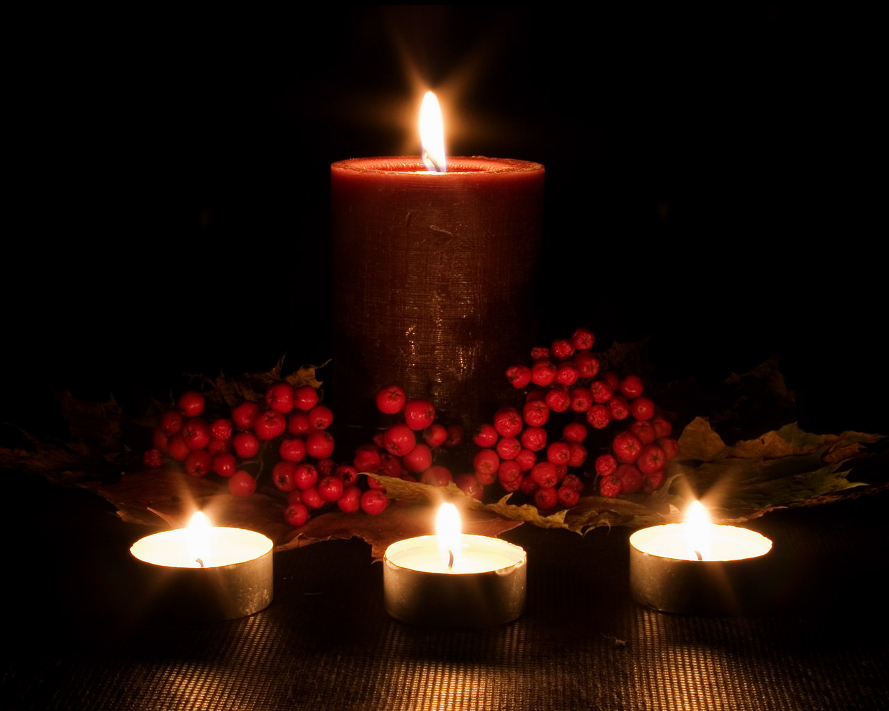 Flickering Firelight Candles Wallpaper 22611292 Fanpop