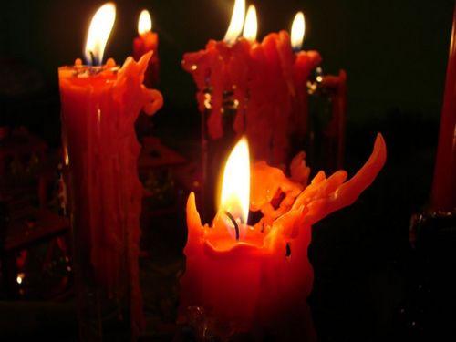 Flickering Firelight