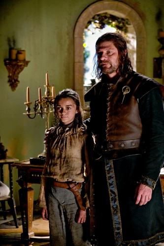 Arya & Ned