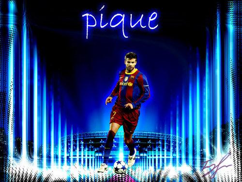 Gerard Piqué FC Barcelona वॉलपेपर