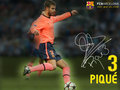 Gerard Pique Season 2009/10 - fc-barcelona wallpaper