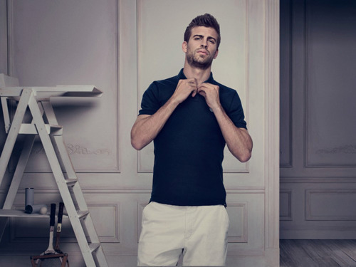 Gerard Pique for Nike Grand Slam Polo S/S 2011