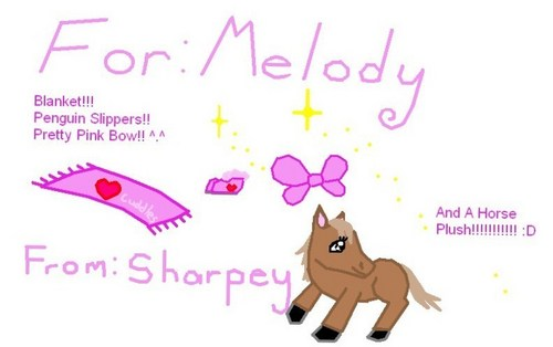 Gifts For The Baby, Melody!!!!