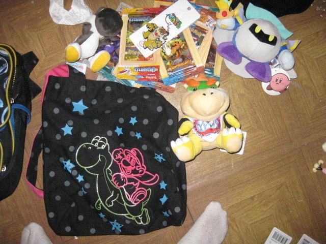 Gifts at Nintendo World Store