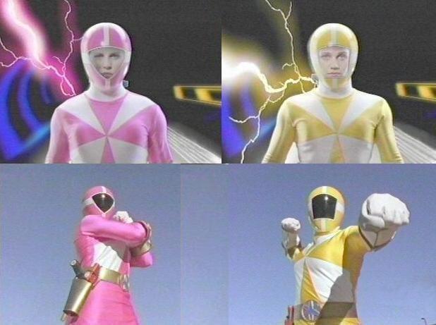 nude power rangers girls