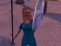 Giselle cataches a Tuna sims 3