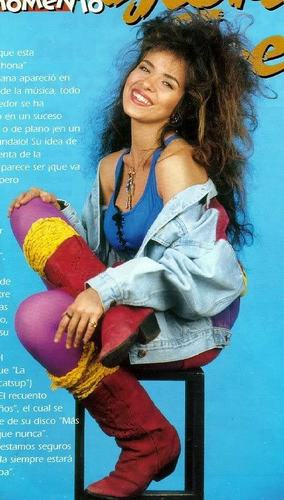 Gloria Trevi when she was young.