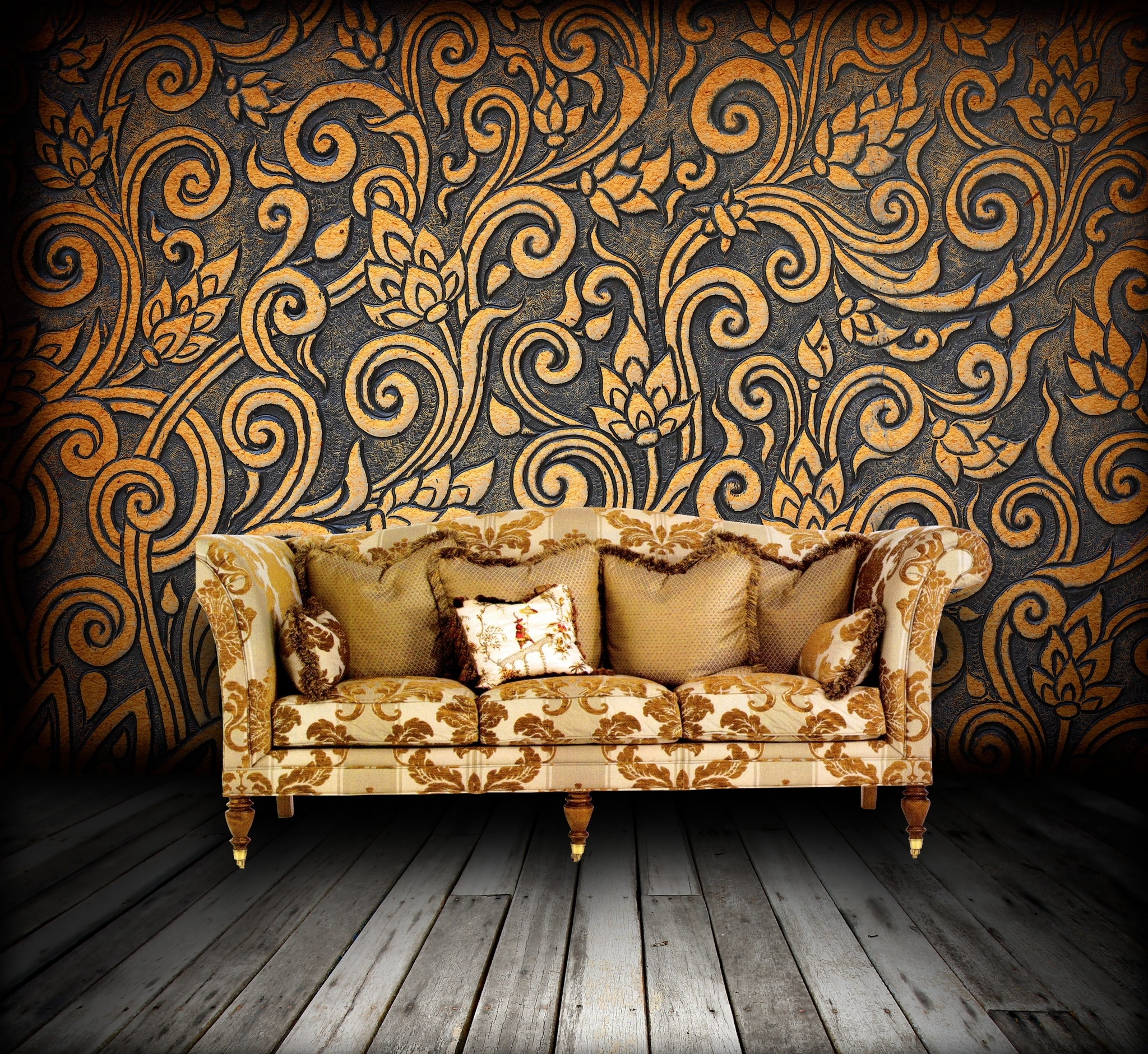 Designs images grunge interior hd wallpaper and background for Cool wallpaper designs for walls