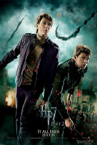 Harry Potter and the Deathly Hallows Part 2:  Weasley Twins