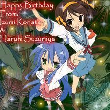 Haruhi Suzumiya & Lucky Star
