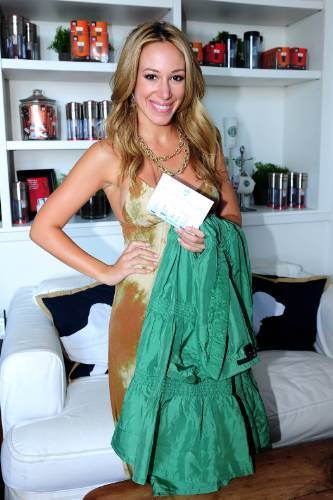 Haylie Duff and Beverley Mitchell switch out their style for Clothes Off Our Bac 2009