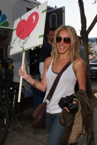 Haylie - Participate in a march against Proposition 8 - 2009