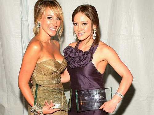 Haylie Duff wallpaper with a cocktail dress called Haylie Wallpaper