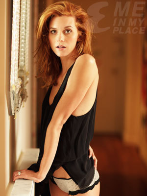 One Tree Hill wallpaper probably with a bustier, a leotard, and attractiveness called Hilarie Burton EsquireMagazine Photo Shoot