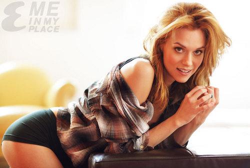 HilarieBurton Esquire Magazine Photo Shoot