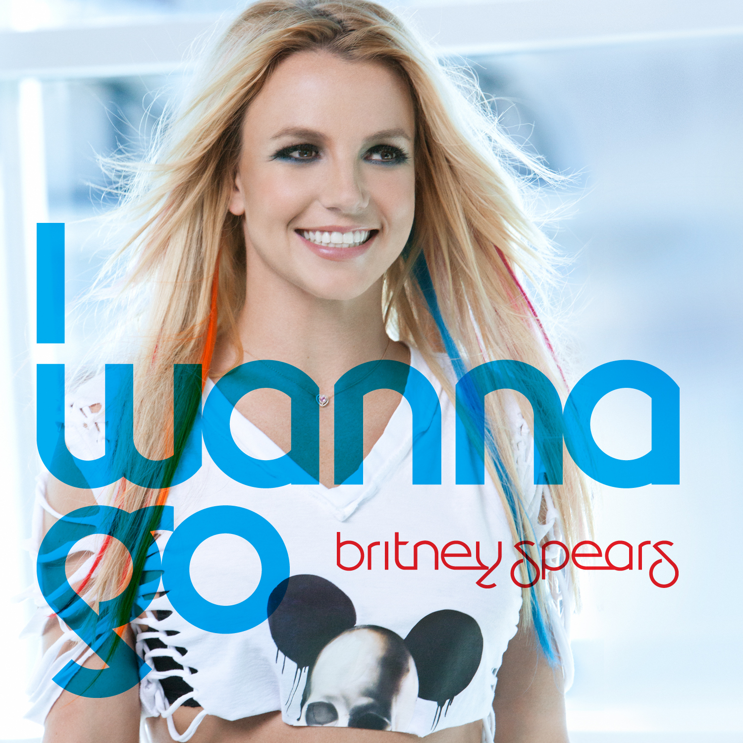 Britney Spears I Wanna Go-Single Cover