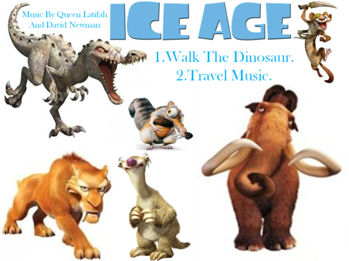 Ice Age wallpaper titled Ice Age Cd