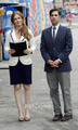 Isla Fisher &amp; Jason Schwartzman on the Set of Bored to Death in Coney Island - isla-fisher photo