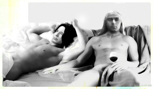 It's been a hard day's night - severus-and-lucius-beneath-the-masks Fan Art