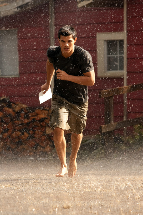 JACOB IN THE RAIN ..