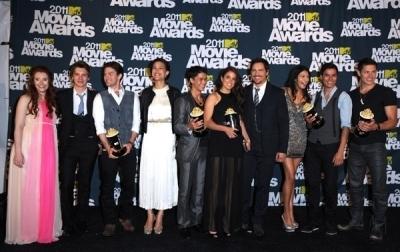 Jackson at MTV Movie Awards 2011