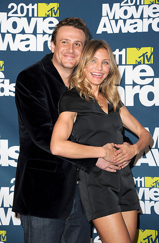 Jason Segal and Cameron Diaz