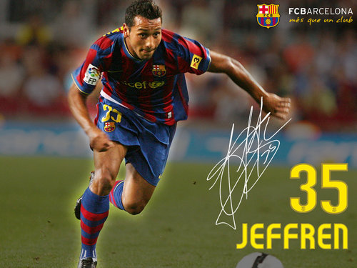 FC Barcelona پیپر وال titled Jeffren 2009/10