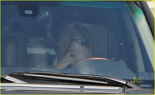 Jennifer Aniston: Universal Studios Visit